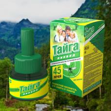 Тайга Ликвид жидкостной наполнитель от комаров 45 ночей 20 шт/кор.