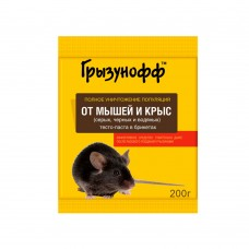 Грызунофф тесто брикет 200 гр
